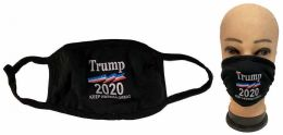 24 Units of Wholesale Trump 2020 Keep America Great Again Face cover - PPE Mask