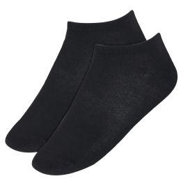 120 Units of Men's Cotton Ankle Socks Black Only - Mens Ankle Sock