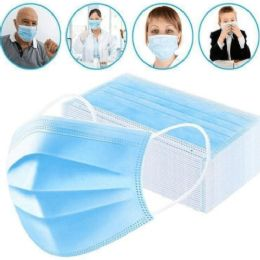 200 Units of 3 Ply Disposable Protection Masks - Face Mask