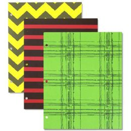 192 Units of Printed Two Pocket Folders - Folders & Portfolios