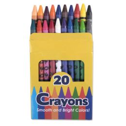 96 Units of 20 Pack Of Crayons - Crayon