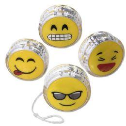 100 Units of Emoji Yo Yo - Light Up Toys