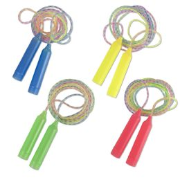 100 Units of Rainbow Jump Rope - Jump Ropes