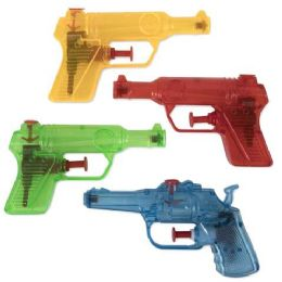 100 Units of Water Blaster Pistol Assorted Colors - Water Guns