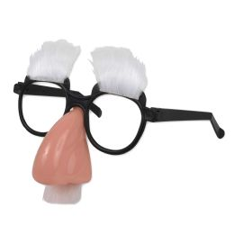 100 Units of Adults Eyeglass Mustache Disguise In Bulk - Light Up Toys