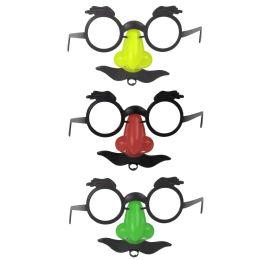 300 Units of Children's Eyeglass Mustache Disguise In Bulk - Face Mask