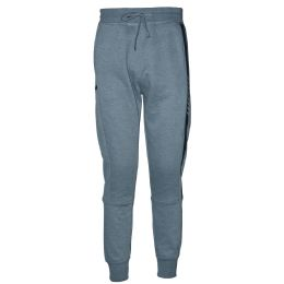 12 Units of Mens Jogger Sweatpants With Drawstring In Light Grey - Mens Sweatpants