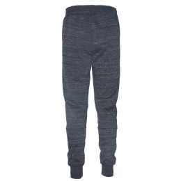 12 Units of Mens Jogger Sweatpants With Drawstring In Charcoal - Mens Sweatpants