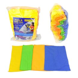 12 Units of 52 Pack Towel Microfiber - Towels