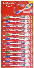 24 Units of Colgate Toothbrush Premier Clean Card Of Twelve - Toothbrushes and Toothpaste