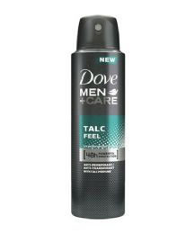 24 Units of Dove Spray Antiperspirant Deodorant Mens Talc Mineral Feel - Deodorant