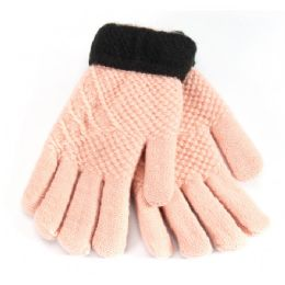 48 Units of Kids Gloves With Fur - Kids Winter Gloves