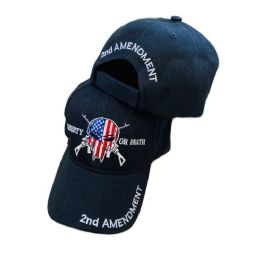 36 Units of Liberty Or Death Hat American Flag Skull - Baseball Caps & Snap Backs