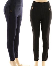48 Units of Womens Workout Full Length Legging With Pocket - Womens Leggings