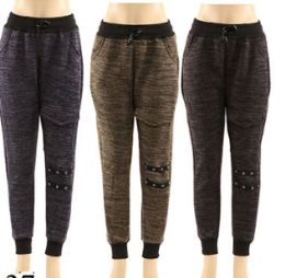 48 Units of Womens Joggers Pants Active Sweatpants - Womens Pants