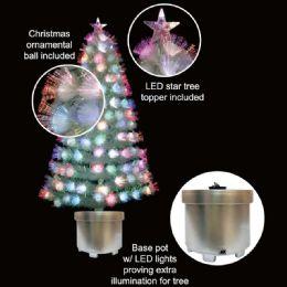 6 Units of 3 Foot Fiber Xmas Tree - Christmas Decorations
