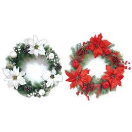 12 Units of Xmas wreath holder - Christmas Decorations