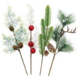 74 Units of Xmas Flower Decoration - Christmas Decorations