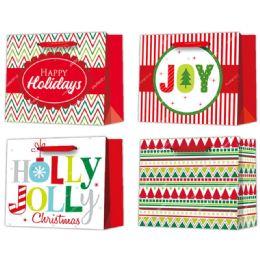 96 Units of Gift Bag Xmas - Gift Bags Christmas