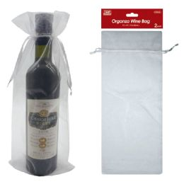 72 Units of Two Count Wine Bag - Gift Bags