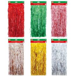 144 Units of Xmas Icicles Strands - Christmas Ornament