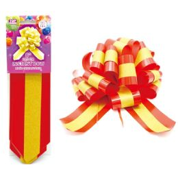 96 Units of Instant Bow Red - Gift Wrap
