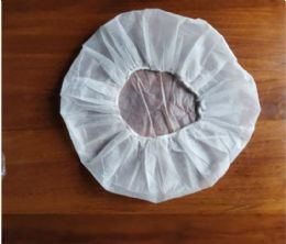 1000 Units of Bouffant Cap 21inch White Nonwoven - PPE