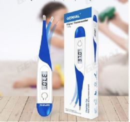 50 Units of Genial Digital Oral Thermometer Blue - PPE Thermometer