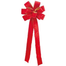 36 Units of Xmas Jumbo Bow - Christmas Novelties