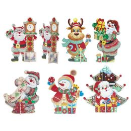 96 Units of Xmas Centerpiece - Christmas Decorations