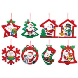 96 Units of Xmas Hanging Decoration - Christmas Ornament
