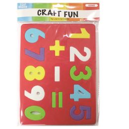 96 Units of Eva Foam Number - Puzzles