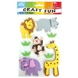 96 Units of Eva Zoo Craft - Craft Glue & Glitter
