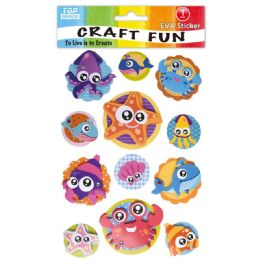 96 Units of Eva Sea Craft - Craft Glue & Glitter