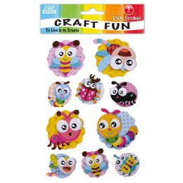 96 Units of Eva Critter Craft - Craft Glue & Glitter
