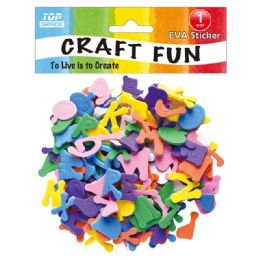 96 Units of Craft Letter And Figure - Scrapbook Supplies