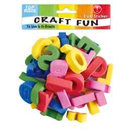 96 Units of Craft Letters - Scrapbook Supplies