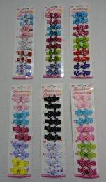 96 Units of 10pc Child's Hair Clip - Hair Accessories