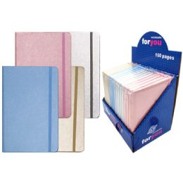 96 Units of Notebook Solid Assorted Color - Note Books & Writing Pads