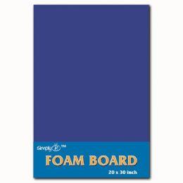 50 Units of Foam Board In Blue - Poster & Foam Boards