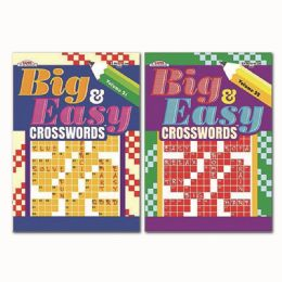 72 Units of Big And Easy Crosswords - Crosswords, Dictionaries, Puzzle books