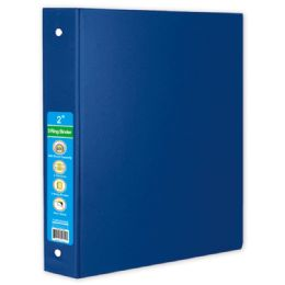 24 Units of Hard Cover Binder In Blue - Clipboards and Binders