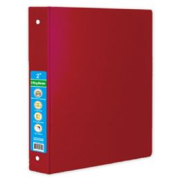 36 Units of Hard Cover Binder In Red - Clipboards and Binders
