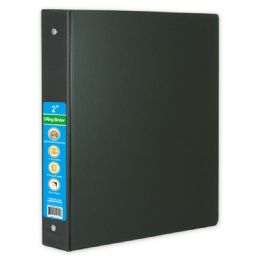 36 Units of Hard Cover Binder In Black - Clipboards and Binders