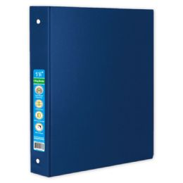 48 Units of Hard Cover Binder In Blue - Clipboards and Binders