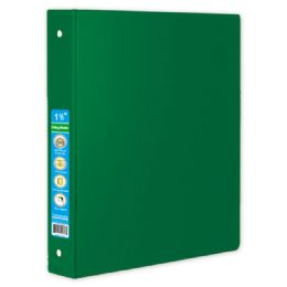 48 Units of Hard Cover Binder In Green - Clipboards and Binders