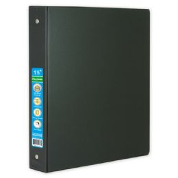 48 Units of Hard Cover Binder In Black - Clipboards and Binders