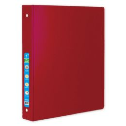 48 Units of Hard Cover Binder In Red - Clipboards and Binders