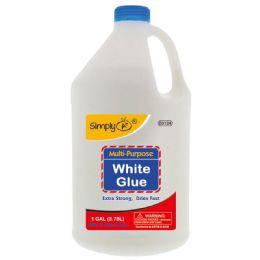 8 Units of Gallon White Glue - Glue Office and School