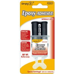 144 Units of Quick Setting Epoxy Glue - Glue Office and School